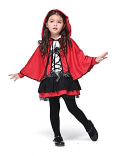Cosplay gensere Inspirert av Diabolik Lovers Youmu Konpaku Anime Cosplay Tilbehør Kappe / Kjole Rød Polyester Barn
