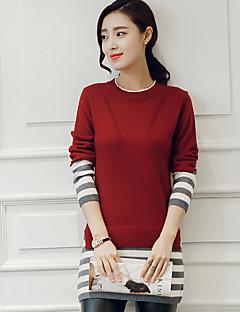 ieftine Bluze Damă-Pentru femei Vintage Sofisticat Șic Stradă Plover - Bloc Culoare