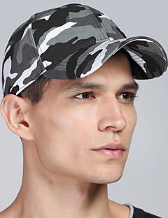 billige Trendy hatter-Unisex Aktiv Militærhatt Baseballcaps Leopard Bomull