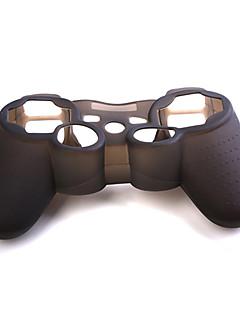 ps3 denetleyici için koruyucu silikon çantası (siyah)