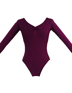 tanie Stroje baletowe-Balet Topy Damskie Bawełna Długi rękaw