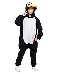 KIGURUMI Pyjaman- Penguin Asu Kokopuku Pyjaman- Polar Fleece Cosplay varten Lapset Animal Sleepwear Joulu Festivaali / loma