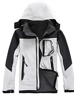 tanie Odzież turystyczna-Męskie Flísová bunda Na wolnym powietrzu Zima Wodoodporny Keep Warm Quick Dry Wiatroodporna Ultraviolet Resistant Anti-promieniowanie