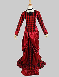 Gothic Lolita Viktoriaaninen Naisten Asut Cosplay Pitkähihainen Epäsymmetrinen
