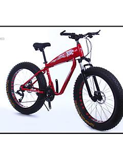 baratos Total Promoção Limpa Estoque-Bicicleta De Montanha Ciclismo 21 velocidade 26 polegadas / 700CC SAIGUAN EF-51 Freio a Disco Duplo Suspensão Garfo liga de alumínio Alumínio