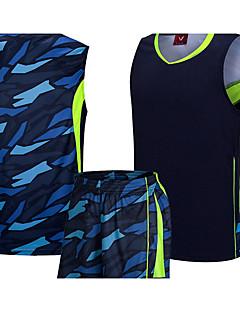 billiga Träning-, jogging- och yogakläder-T-shirt för jogging - Vit, Himmelsblå sporter Väst / Linne / Överdelar Sportkläder Snabb tork, Andningsfunktion, Bekväm Elastisk