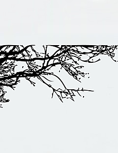 Botanic Modă Peisaj Perete Postituri Autocolante perete plane Autocolante de Perete Decorative,Vinil MaterialLavabil Detașabil