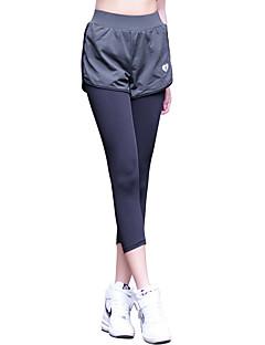 billige Løbetøj-Dame Løbetights / Træningsleggings Tøjsæt - Sport Yoga, Træning & Fitness, Løb Hurtigtørrende, Åndbart Høj Elasticitet