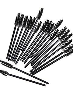 billiga Sminkborstar-50st Makeupborstar Professionell Ögonfranskam (platt) / Borste för färgning av ögonfrans / Ögonfransgel Borste Syntetiskt Hår Miljövänlig