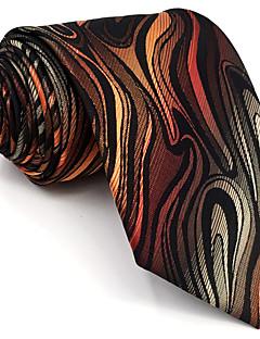 billige Redaksjonens valg-menns vintage søte fest arbeid casual rayon slips geometrisk farge blokk jacquard, grunnleggende