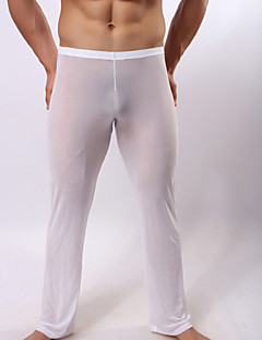 Men's Trousers Transparent Gauze Trousers Sexy Household Pants
