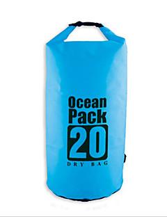 5L L Vízálló Dry Bag Compression Pack Vízálló zsák Vízálló Gyors szárítás Többfunkciós Telefon/Iphone Párásodás gátló Lebegő Púdertartó