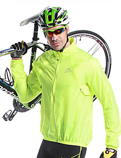 cheap Cycling Jackets-Mysenlan Cycling Jacket Men's Bike Jacket Top Bike Wear Thermal / Warm Quick Dry Windproof Ultraviolet Resistant Rain-Proof Solid Camping