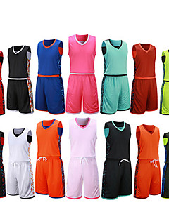 Pánské Fotbal Sady oblečení Prodyšné Ter Emen Pohodlné Jaro Léto Zima Podzim Jednobarevné PolyesterVolnočasové sporty Basketbalový míč