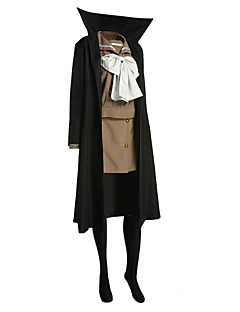 """billige Anime cosplay-Inspirert av Shakugan no Shana Shana Anime  """"Cosplay-kostymer"""" Cosplay Klær Lapper Langermet Frakk Topp Skjørte Bånd Til Dame"""