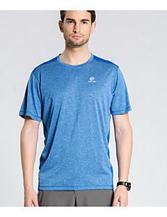 tanie Koszulki turystyczne-Męskie Dla obu płci Tričko na turistiku Quick Dry Lekki Topy na Sport i rekreacja Lato M L XL
