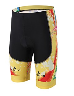 cheap Cycling Pants, Shorts, Tights-Miloto Cycling Padded Shorts Unisex Bike Padded Shorts/Chamois Bottoms Bike Wear Reduces Chafing 3D Pad Compression Cycling / Bike
