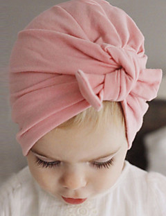 cheap Kids' Accessories-Girls' Boys' Hats & Caps Cotton Hair Tie - White Red Blushing Pink Gray Purple