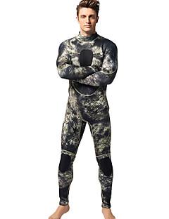 MYLEDI 男性用 3mm ウェットスーツ フルウェットスーツ 防水 保温 耐久性 YKKジッパー ネオプレン 潜水服 ダイビングスーツ-水泳 潜水 春 夏 冬 秋 パッチワーク