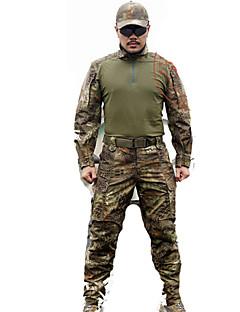 tanie Odzież myśliwska-Męskie Zestawy odzieży Łowiectwo Sport i rekreacja Wodoodporny Zdatny do noszenia Oddychający Wiosna Zima Jesień