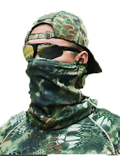 Unisex nákrčníky Lov Volnočasové sporty Větruvzdorné Nositelný Ochranný Jaro Podzim Zima Zelená
