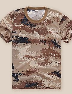 cheap Hiking Shirts-Unisex Hiking T-shirt Quick Dry Comfortable Clothing Suits for Camping / Hiking Summer XL XXL XXXL M-L L-XL