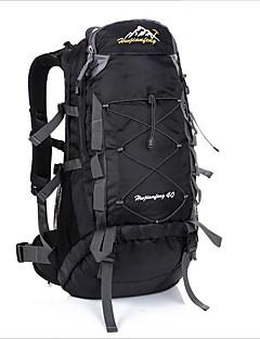 billiga Ryggsäckar och väskor-40L Ryggsäckar - Vattentät, Reflekterande, Regnsäker Utomhus Camping, Klättring, Fritid Sport oxford Orange, Rubinrött, Gul