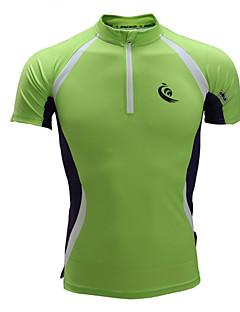 ランニングTシャツ 半袖 速乾性 人間工学デザイン 透湿性 高通気性 バクテリア対応 超軽量生地 滑らか トラックスーツ Tシャツ トレーナー トップス 洋服セット のために エクササイズ&フィットネス レーシング レジャースポーツ サイクリング / バイク ランニング