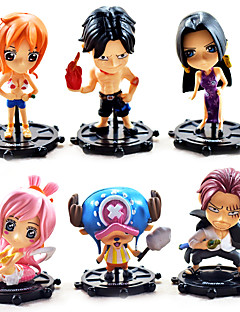 billige Anime cosplay-Anime Action Figurer Inspirert av One Piece Boa Hancock PVC 10 CM Modell Leker Dukke