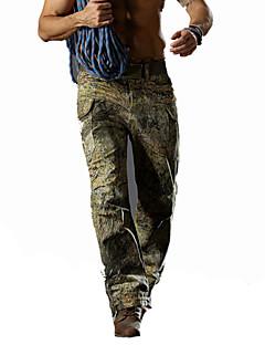 tanie Odzież myśliwska-Męskie Spodnie Łowiectwo Sport i rekreacja Wodoodporny Zdatny do noszenia Oddychający Wiosna Zima Jesień