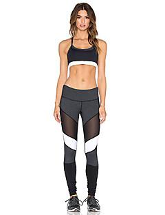 billige Løbetøj-Dame Løbetights Sport Tights Yoga, Træning & Fitness, Løb Åndbart, Blød, Strækbart Elastisk Ensfarvet