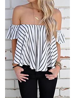 Aliexpress ebay2016 Sommer Europa und Amerika sexy aus Schulter Bluse Kragen Spot