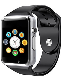 billige Digitalure-Herre / Dame Smartur Touch-skærm / Kalender / Kronograf Gummi Bånd Mangefarvet / Skridttællere / Speedometer / Træningsmålere / Kommunikation / tachymeter