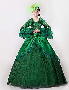 Prinsesse Gudinne Nisse drakter Cosplay Kostumer Kvinnelig Halloween Jul Karneval Nytt År Festival/høytid Halloween-kostymer Trykt mønster
