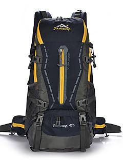 billiga Ryggsäckar och väskor-40 L Ryggsäckar - Vattentät, Damm säker, Bärbar Utomhus Camping, Klättring, Fritid Sport Orange, Rubinrött, Mörkblå