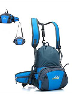 billiga Ryggsäckar och väskor-20L Ryggsäckar / Magväskor / Axelväska - Snabb tork, Bärbar, Andningsfunktion Camping, Klättring, Fritid Sport oxford Röd, Marin, Mörk