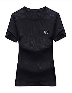 Homens Mulheres Camiseta de Trilha Prova-de-Água Secagem Rápida Respirável Camiseta Blusas para Alpinismo Verão M L XL XXL XXXL
