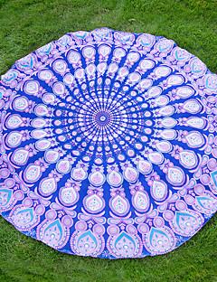 Beach TowelReactive Print High Quality 100% Polyester Towel