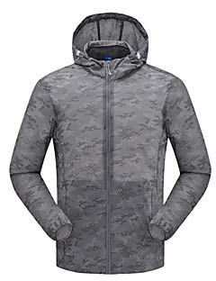 Herrn Wanderjacke Rasche Trocknung Windundurchlässig UV-resistant Staubdicht Atmungsaktiv Sonnenschutz Jacke Oberteile für Camping &