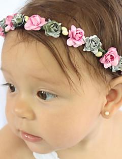 tanie Akcesoria dla dzieci-Akcesoria do włosów - Dla obu płci - Na każdy sezon - Bawełna Nylon Czerwony Blushing Pink Beige Yellow Fuchsia