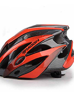 cheap Cycling-MOON Adults Bike Helmet 25 Vents Impact Resistant EPS, PC Road Cycling / Cycling / Bike / Mountain Bike / MTB - Red black