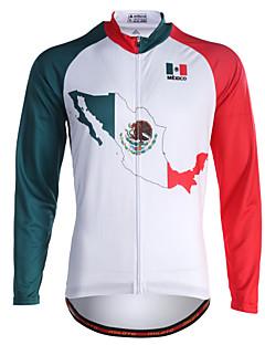 Miloto Camisa para Ciclismo Homens Manga Longa Moto Camisa Pulôver Camisa/Roupas Para Esporte Blusas Secagem Rápida Permeável á Humidade