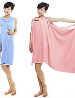 Frischer Stil Bademantel,Solide Gehobene Qualität 100% Mikrofaser Handtuch
