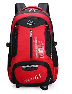 女性 バッグ ナイロン バックパック のために キャンピング&ハイキング 登山 ブルー グリーン ブラック オレンジ ルビーレッド