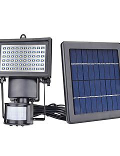 1pcs 60 LED sollys sensor sikkerhet hage lys pir bevegelses sensor vei vegglamper utendørs nødlampe