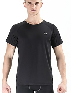 Unisex T-Shirt für Wanderer Rasche Trocknung Atmungsaktiv Außen Oberteile für Yoga Übung & Fitness Rennsport Laufen