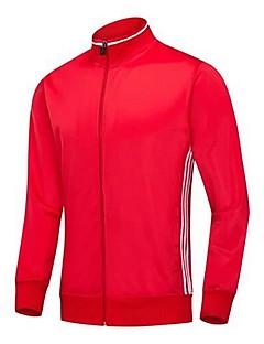 tanie Koszulki piłkarskie i szorty-Piłka nożna Na każdy sezon Jendolity kolor Prążki Poliester Terylene Rekreacyjna jazda na rowerze