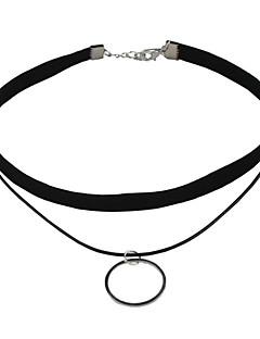 ロリータパンク ネックレス カラーブロック ロリータアクセサリー ネックレス 繊維
