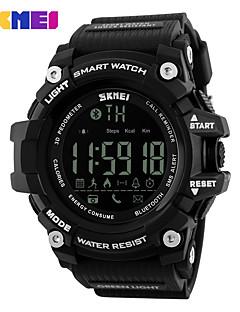 billige Luksus Ure-Herre Quartz Digital Digital Watch Armbåndsur Smartur Militærur Skeletur Sportsur Kinesisk Alarm Kalender Kronograf Vandafvisende
