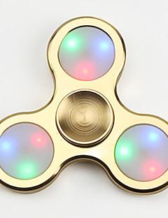 FQ777 Spinner antistres mână Spinner Jucarii Tri-Spinner LED-ul Spinner Înaltă Viteză Stres și anxietate relief Birouri pentru birou